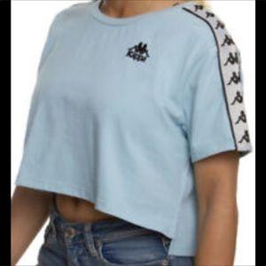 Kappa Short Sleeve Logo Cropped Tee